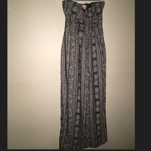 NEW Band of Gypsies strapless jumpsuit; size M